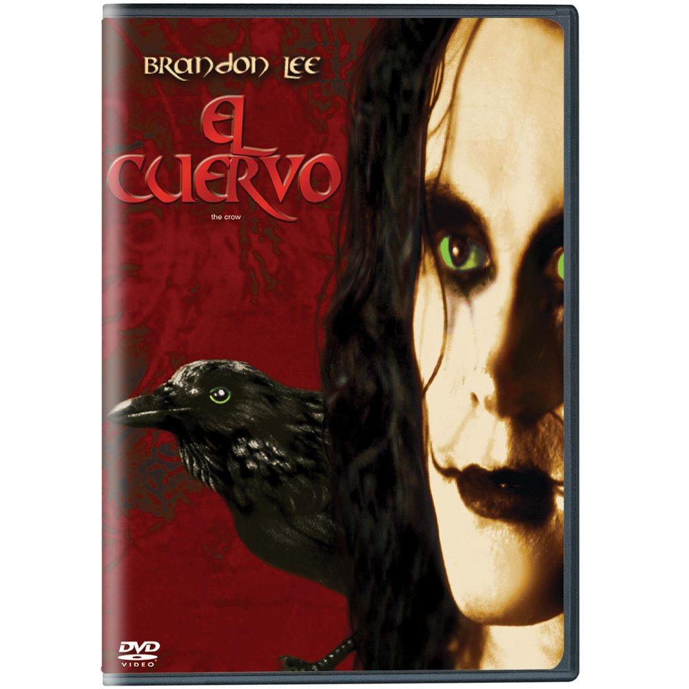 Amazon.com: THE CROW (El Cuervo) [NTSC/REGION 1 & 4] Brandon Lee (Spanish  subtitles): Movies & TV