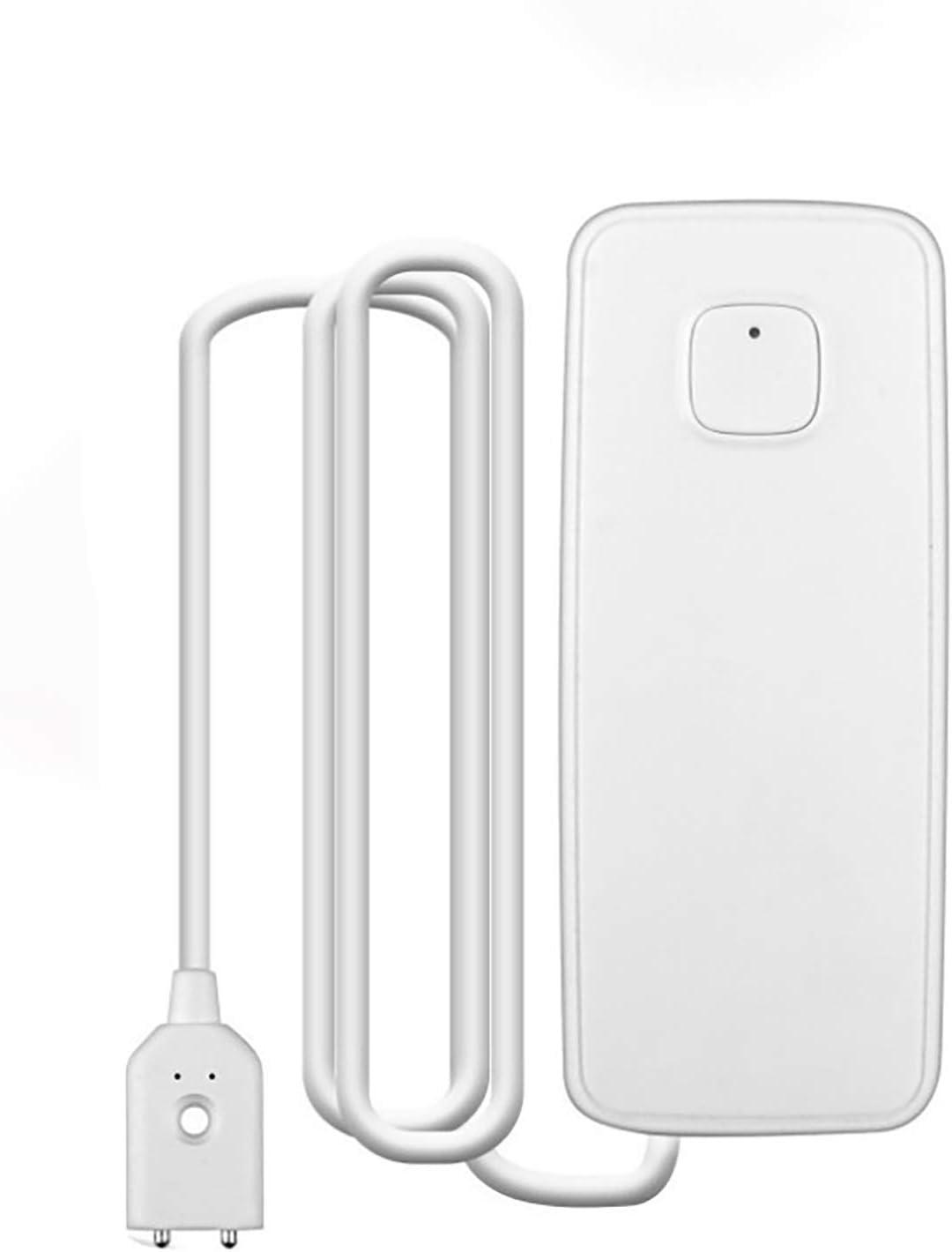 SOLE HOME Water Leak Sensor Alarm, Tuya Smart WiFi Water Leakage Intrusion Detector Alert, Flood Alarm, Home Security Sensor, Work with Smart Life APP, No Hub Required