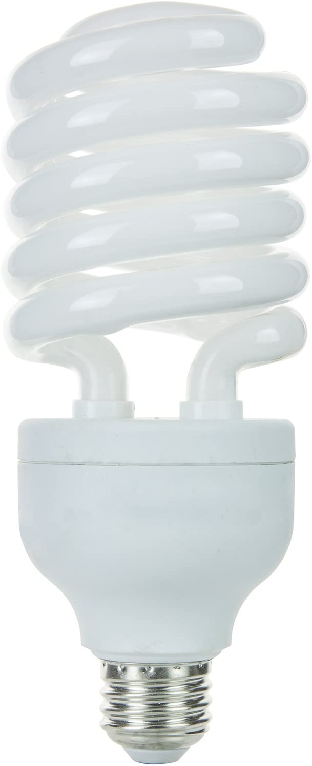 Sunlite SL42/65K 42 Watt High Wattage Spiral Energy Saving CFL Light Bulb Medium Base Daylight