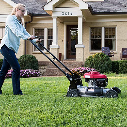Honda 21 Side Discharge Gas Self Propelled Lawn Mower Lawnmower - HRS216VKA