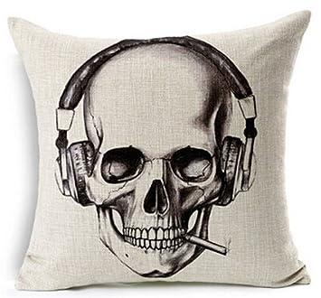 Amazon.com: Retro de regalo de Halloween Boceto Cráneo ...