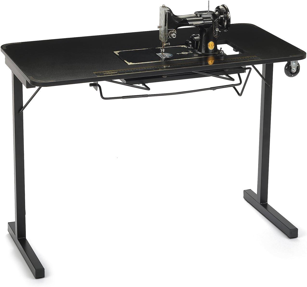 Arrow Mesa pesada para máquinas de coser vintage Singer plumas 221 y 222: Amazon.es: Juguetes y juegos