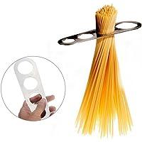 GEZICHTA Medidor de Espaguetis de Acero Inoxidable, Dispositivo de medición de Pasta con 4 Agujeros, Utensilios de Cocina para Cocina, medición de la Nariz Control de porción