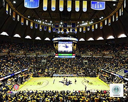"University of West Virginia WVU Coliseum 8"" x 10"" College Basketball Stadium Photo"