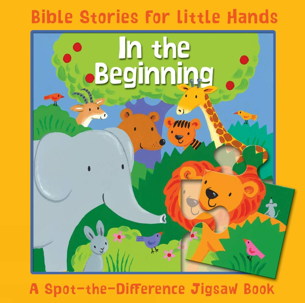 Download In the Beginning: A Spot-the-Difference Jigsaw Book (Bible Stories for Little Hands) pdf