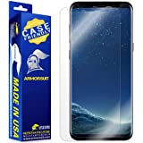 ArmorSuit MilitaryShield (Case Friendly) Screen Protector Designed for Samsung Galaxy S8 Anti-Bubble HD Clear Film