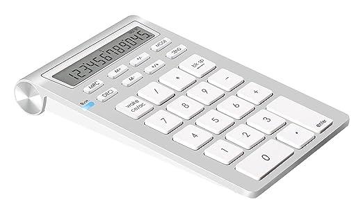 35 opinioni per Alcey Wireless Bluetooth Tastierino numerico con funzione di calcolo per iMac,