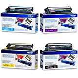 brother 3070 - Brother Toner Cartridge Set, 4-Pack, Black, Cyan, Magenta, and Yellow (TN-210)