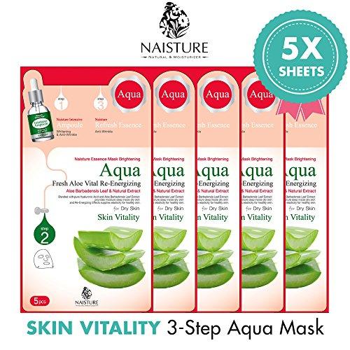 Aloe Vera Face Mask For Dry Skin - 5