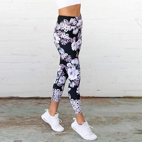 Pantalones De Yoga Anchos Pantalon Cagados Mujer Yoga Leggings ...
