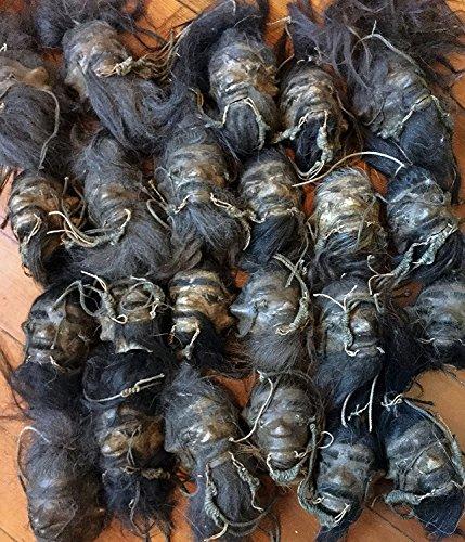 Shrunken Head (Shrunken Head replica for sale Beetlejuice real voodoo goosebumps include one(1) head similar to photo)