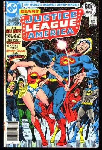 Justice League of America DC Comic #143 (June (1977 Dc Comic Book)