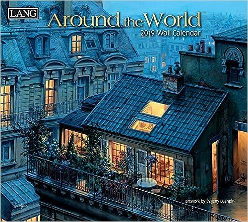 Around The World 2019 Deluxe Wall Calendar por Evgeny Lushpin