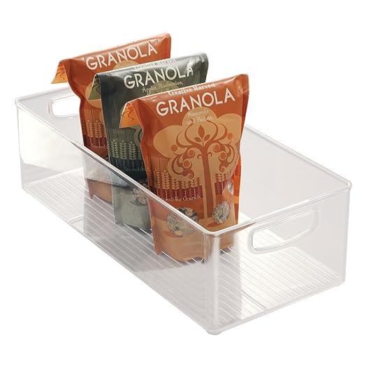 InterDesign Cabinet/Kitchen Binz Kitchen Storage Container, Extra Large  Plastic Storage Boxes For The