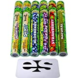 Cyclones Variety Pack Pre-Rolled Flavored Hemp Wraps (6 Packs) Total 10 Wraps with ES Scoop Card