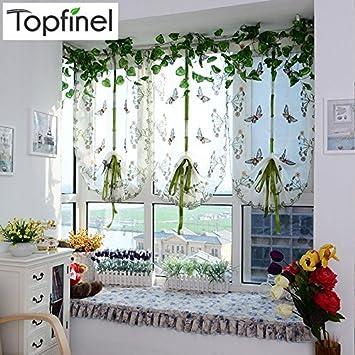Wunderbar Ankunft Tüll Für Römische Vorhang Jalousien Fenster Voile Gardinen Für Küche,  Wohnzimmer Bestickt Das Schlafzimmer