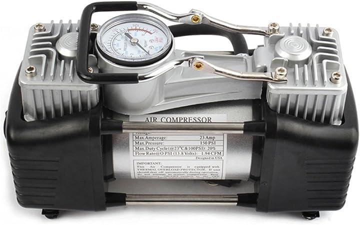 min CARTECH Ct-365 Portable DC 12V Pompe auto moto et en voiture gonfleur de pneu Mini compresseur dair Max.Pressure 150 Psi Puissance 180W 60Liters