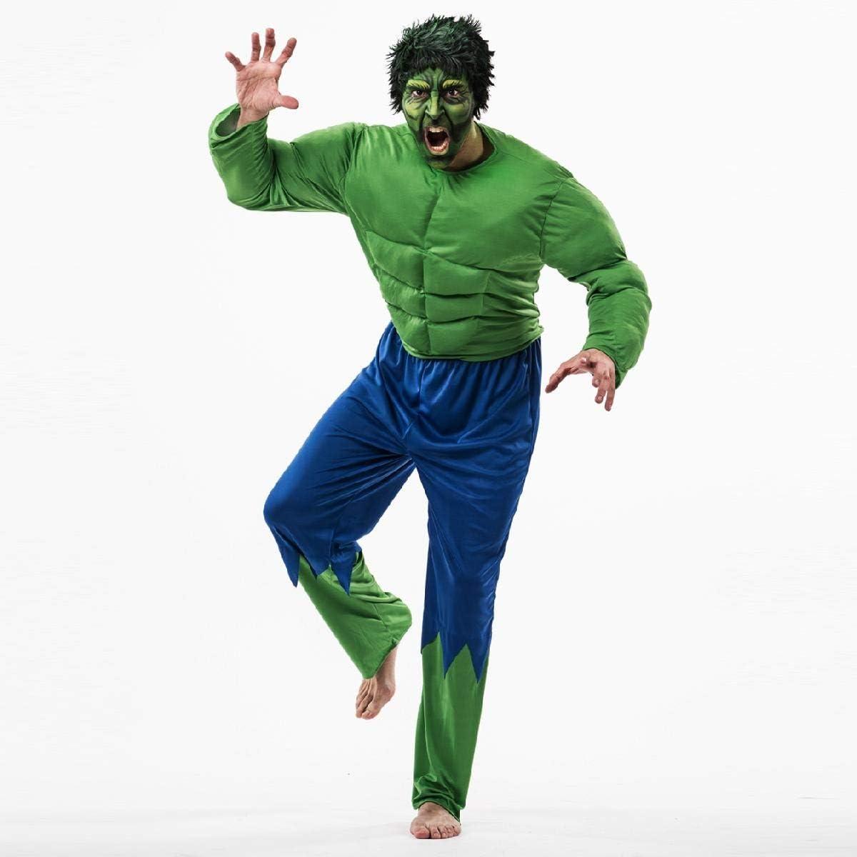 Disfraz de Hulk adulto Talla 52: Amazon.es: Ropa y accesorios