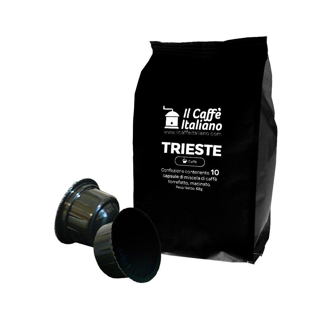 100 Cápsulas de Café compatibles Caffitaly sabor Café Trieste, 100 Cápsulas compatible con maquinas Caffitaly Paquete de 5x20 por un total de 100 Capsules, ...