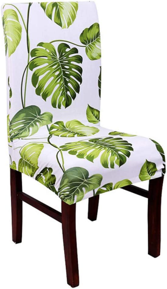 PPOOLLK Spandex Housse de Chaise /élastique en Forme de Papillon imprim/é Fleurs