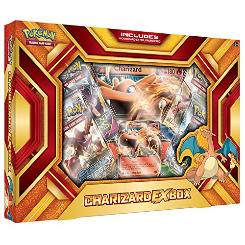 Pokemon TCG Charizard EX Box Fire Blast product image
