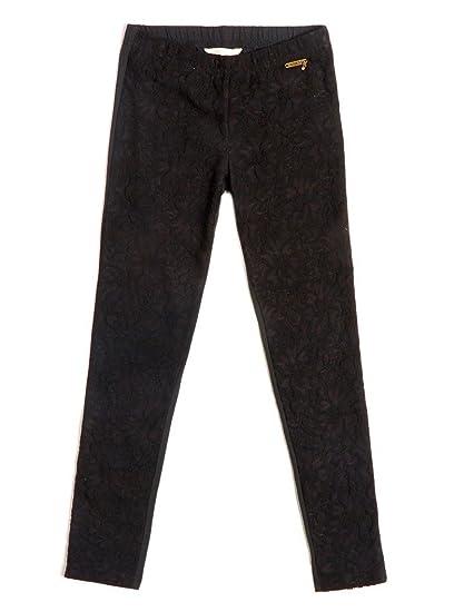893817f68be Legging Guess Insertion Dentelle Noir  Amazon.fr  Vêtements et ...