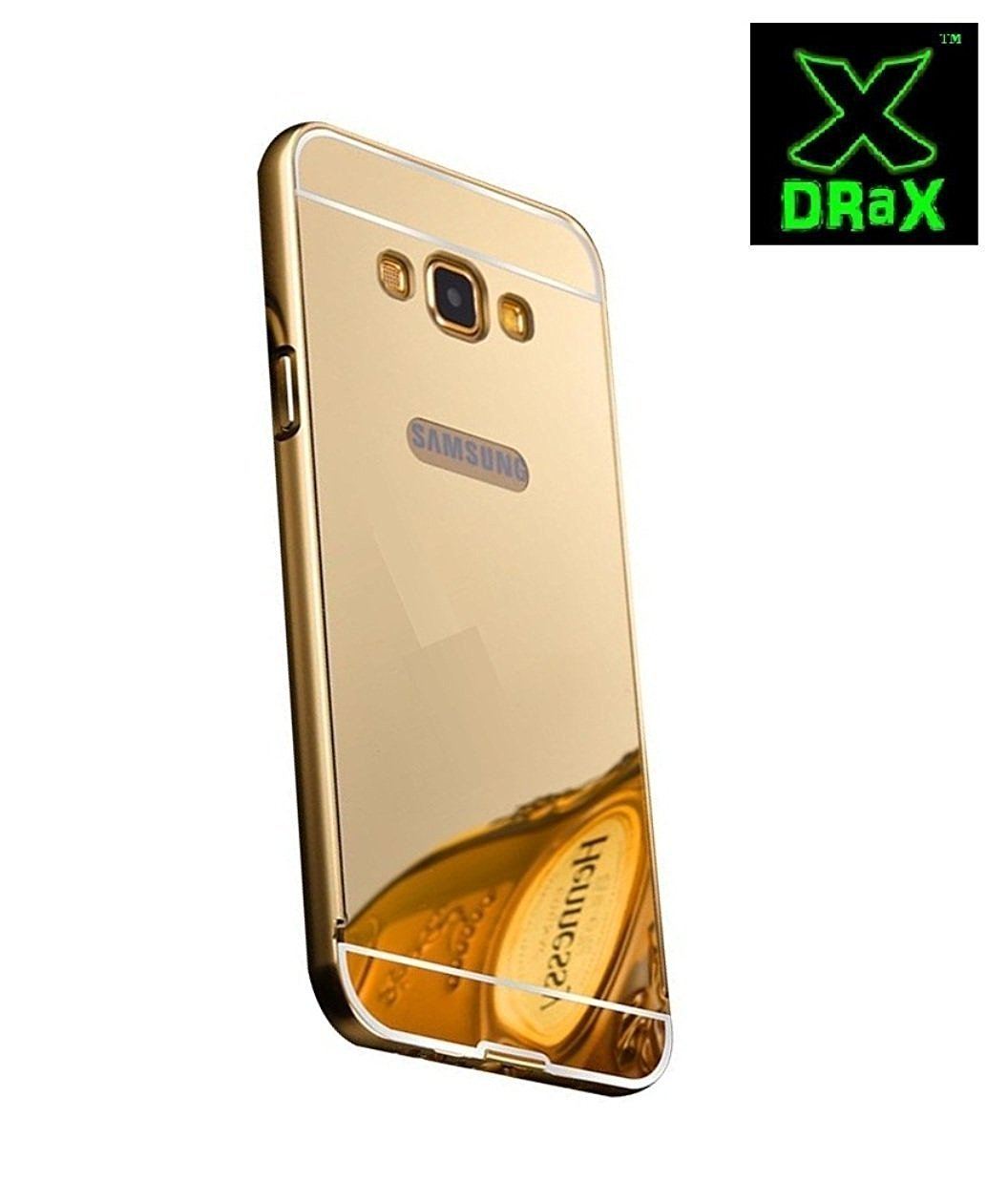 premium selection 9ed43 61d77 Samsung Galaxy Note 4 Back Cover Metal Mirror Bumper: Amazon.in ...