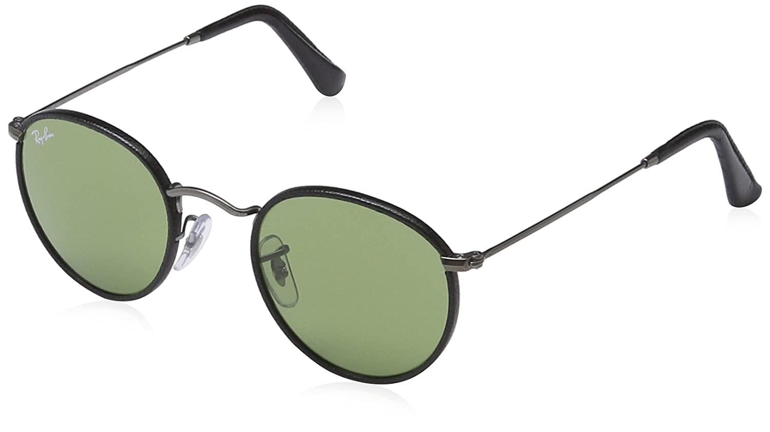 7bd17f9c5bd Ray-Ban Round Craft Black RB3475Q 029 14 47-21 Small  Amazon.co.uk  Clothing