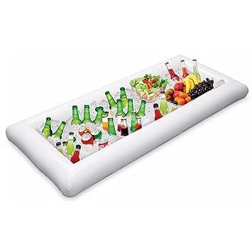 1 piezas Servicio de buffet inflable y barra de ensaladas Cubos de hielo Refrigerador de alimentos