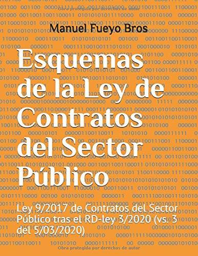 Esquemas de la Ley de Contratos del Sector Público: Ley 9/2017 de ...
