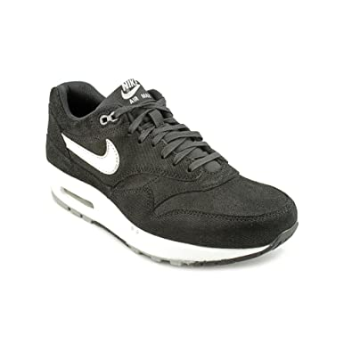 low priced 22963 61d72 Nike Wmns Air Max 1 PRM Black Metallic Silver (454746-002) (9.5