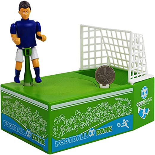Automated Coin Bank Saving Money Box-King Soccer Football(Without Battery