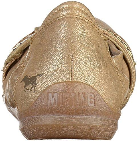 Mustang 1181-209 Femmes Ballerine Beige tVudC0H