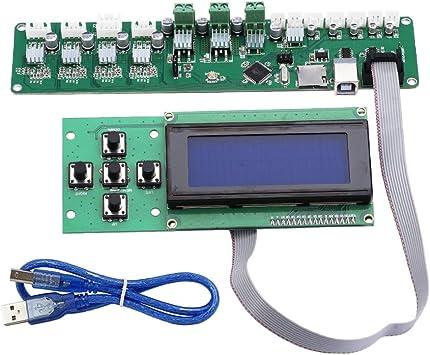 Homyl Tablero de Control Melzi2.0 Motherboard Controlador ...