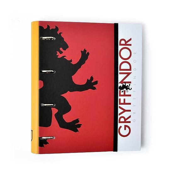 Grupo Erik Editores Carpeta 4 Anillas Troquelada Premium Harry Potter: Amazon.es: Oficina y papelería