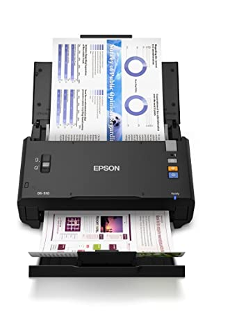 Amazon.com: Epson WorkForce DS-510, hasta 26PPM/52IPM, 50 ...