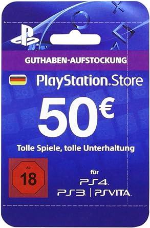 Playstation Store Network Card 50 (PS4/PS3/PS Vita) [Importación ...