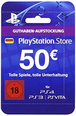 Playstation Store Network Card 50 (PS4/PS3/PS Vita ...