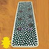 WE&ZHE Pebble Foot Massage Pad / Foot Massage Pad / Massage Carpet / Stone Massage Pad / Massage Blanket (50 150 Cm)
