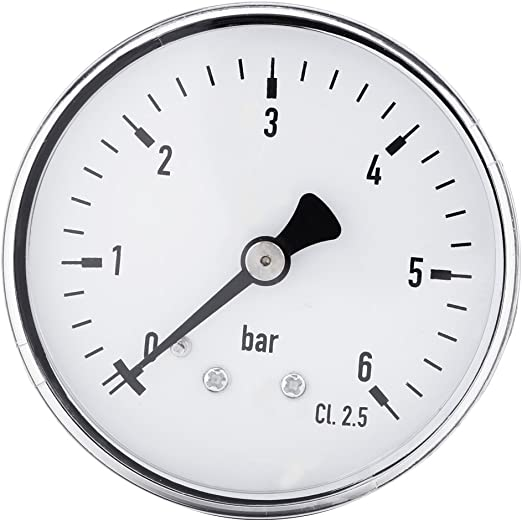 0-60psi Luft Axial Druck Messlehre Werkzeug 1//4 Npt für Wasser Öl Gas Fuel