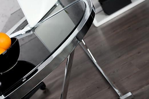 Exklusiver Design Eck Schreibtisch BIG DEAL Glas Schwarz: Amazon.de: Küche  U0026 Haushalt