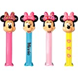 Minnie Mouse Pez Dispenser With Two Refils (Sold Singly, One Random Character Supplied)