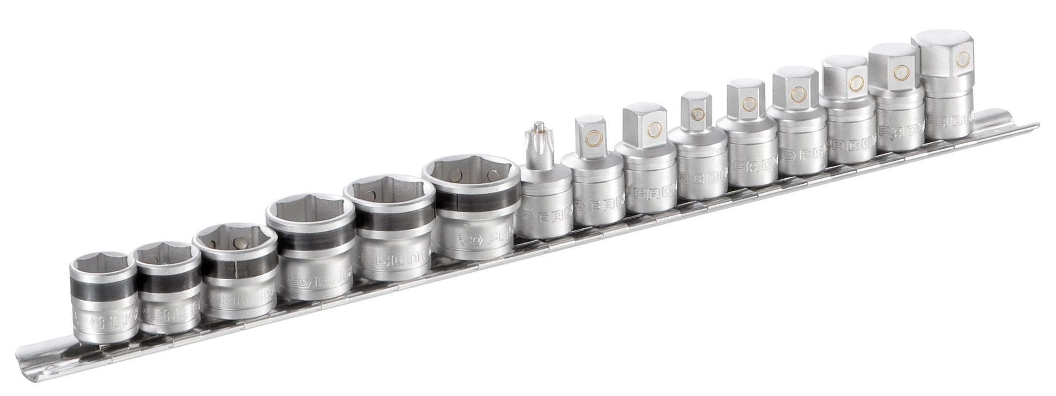 Facom mb-j15pg Nozzle Drain Socket and 6 Magnetic Storage Rack, Set of 9 by Facom (Image #1)