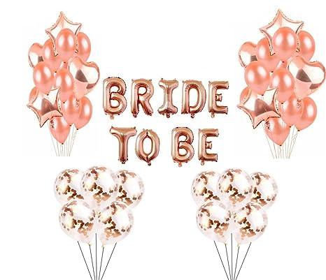 9a76174e71bc Yalulu Kits de Douche Nuptiale Hen Party Décoration, Bachelorette Bride  Party Fournitures avec la Mariée