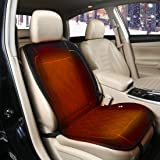 シートヒーター 車用 12V 24V ホットカーシート 3段階調節 加熱 シートカバー ヒータークッション 運転席 助手席対応 過熱保護 6ヶ月保証 日本語説明書付き レザー 自宅 オフィスJoytutus
