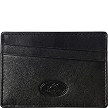 Mancini Rfid Secure Credit Card Case, Black, Under Seat