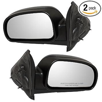 New Right Side Mirror Envoy Rainier Trailblazer Manual GM1321264