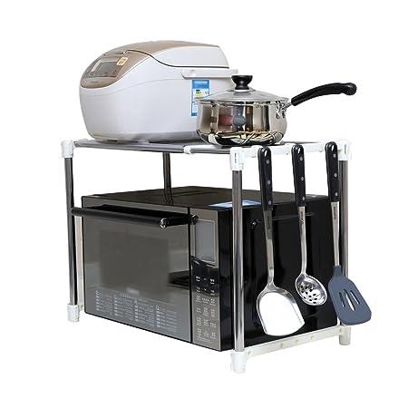 Kitchen organizer Shelves Cocina De Piso Cocina Racks Horno Rack ...