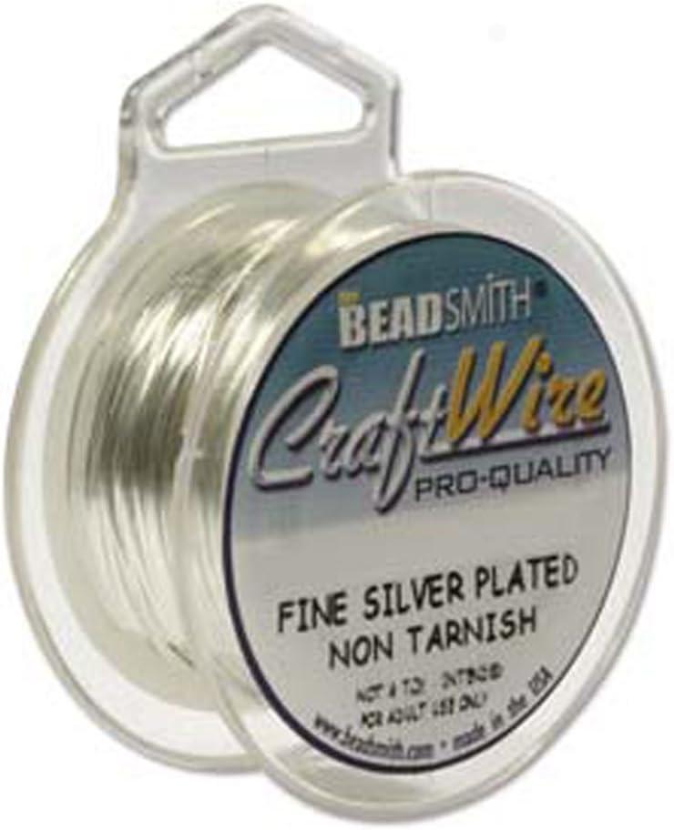 Beadsmith chapado en las manchas Wire 20/ga 1/bobinas 6/Yard rollos de alambre para manualidades