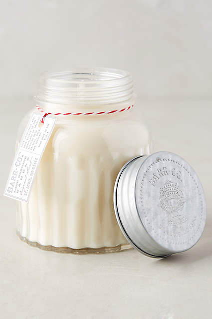 Barr-Co. Apothecary Jar Candle - anthropologie.c​om